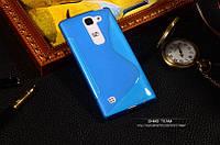 TPU чехол для LG Spirit Y70 H422 синій, фото 1