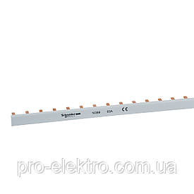 Шина гребенчатая Schneider Electric 63 A - 1 x 10мм² - 57 модулей 10388