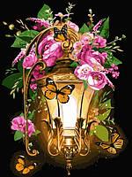 Картина по номерам Фонарь из сказки (VK225) 30 х 40 см DIY Babylon