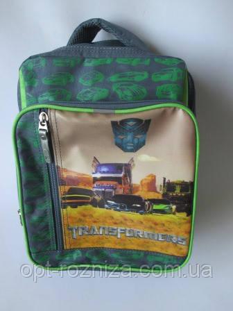 Школьные рюкзаки с машинками.