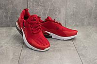 Кроссовки G 5074 -1 (Nike AirMax 270) (весна/осень, мужские, текстиль, красный)