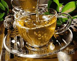 Рисование по номерам Зеленый чай (VP1133) 40 х 50 см DIY Babylon