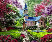 Раскраска по цифрам Цветущий сад (VP1153) 40 х 50 см DIY Babylon