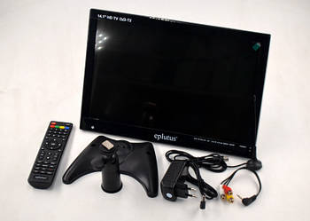 """Автомобильный телевизор с цифровым тюнером DVB-T2 14.1"""" Eplutus EP-143T"""