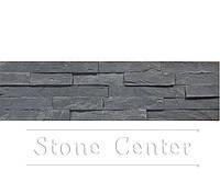 Натуральный камень Сланец Графит( Серый) 600х150х15-20мм SP-10