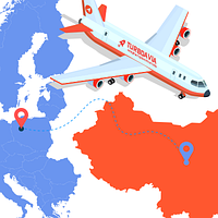 Авиадоставка из Китая в Европу