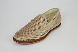 Мокасины мужские комфорт кожаные визон Kadar 3405349