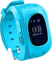 Детские часы-телефон с GPS WONLEX Q50 Blue