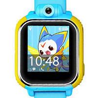 Детские часы-телефон с GPS WONLEX Q200S Blue, фото 1