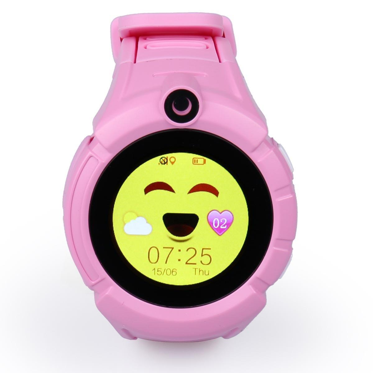 Детские часы-телефон с GPS WONLEX Q610S Pink