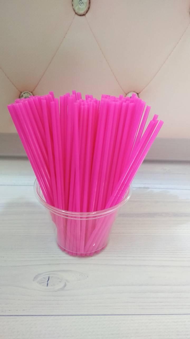 Палочки для Кейк попсов и конфет Малинове (пластик) 15 см