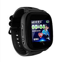 Детские часы-телефон с GPS WONLEX Q300 Aqua Black, фото 1