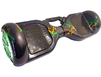 Гироборд/Гироскутер Smart Р-6.5 РУЧ Самобаланс + АРР молния с РУЧКОЙ