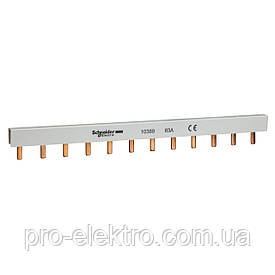 Шина гребенчатая 2P 12М штырек Schneider Electric 10389