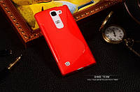 TPU чехол для LG Spirit Y70 H422 красный, фото 1