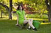 Bono Трикотажное летнее платье Поло с украинской символикой, фото 5