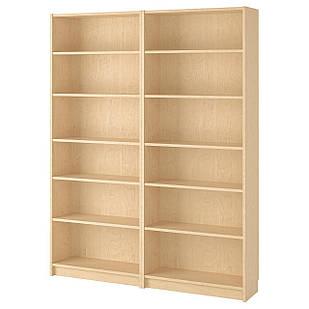 IKEA BILLY Книжный шкаф, березовый шпон  (290.234.02)