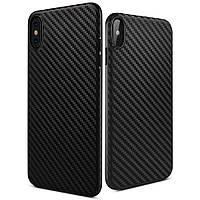 Силиконовый чехол Hoco Delicate shadow iPhone X Черный (HDS-IPX)