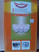 Баночки (стаканчики) для йогуртницы Moulinex набор 7шт