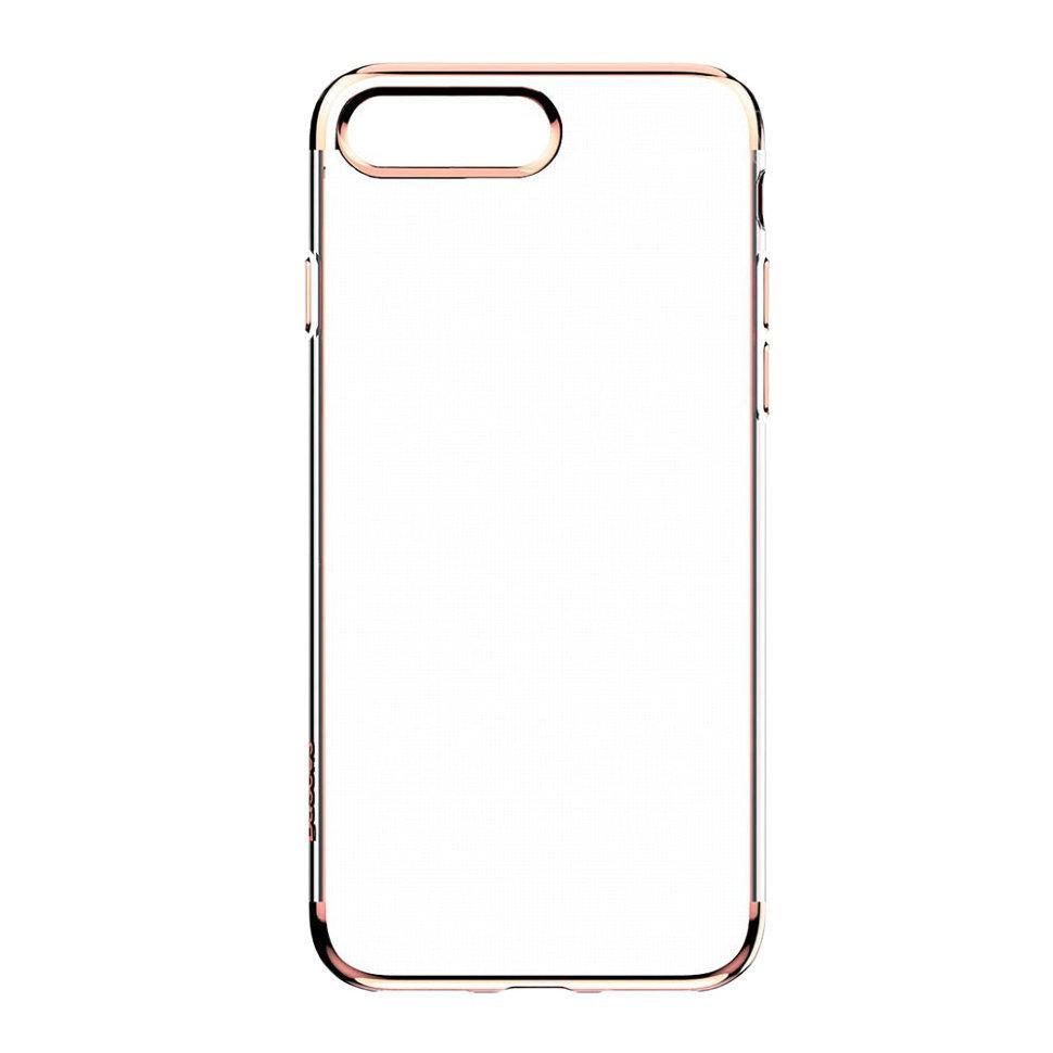 Силиконовый чехол Baseus Shining для iPhone 7 Plus Розовый (ARAPIPH7P-MD0V)