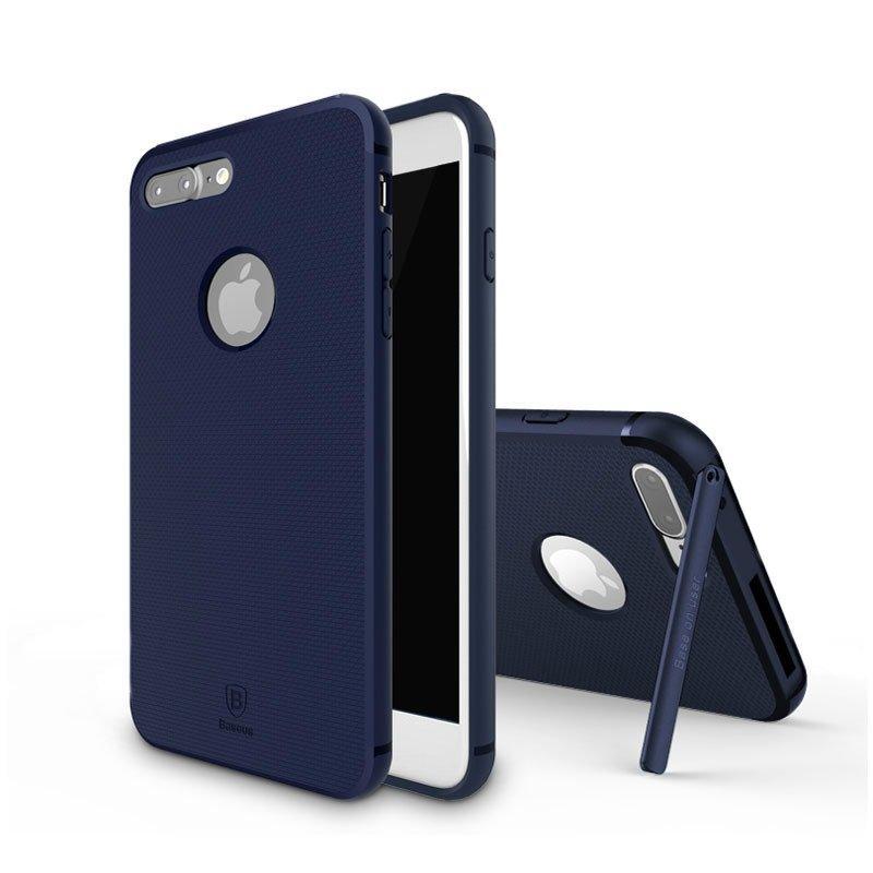 Силиконовый чехол Baseus Hermit для iPhone 7 Plus Фиолетовый (FRAPIPH7P-YZ15)
