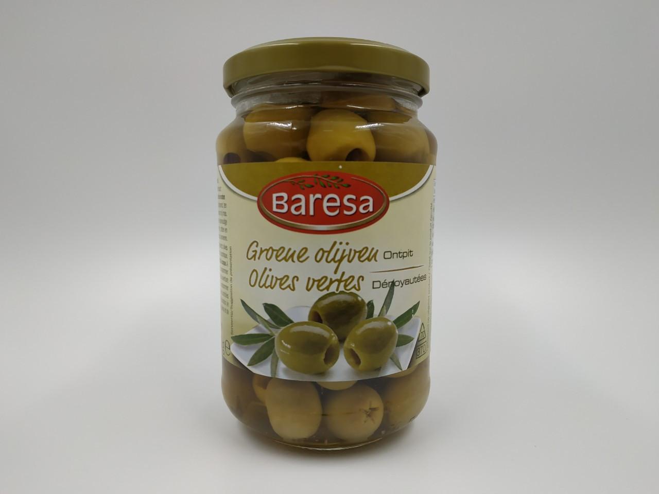 Оливки Baresa 340/170г (без косточки)