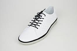 Кроссовки белые мужские перфорированные Kadar 3408763