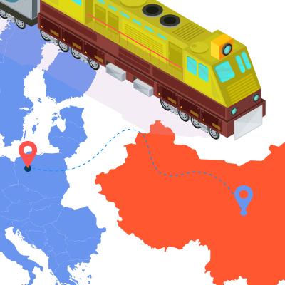 ЖД доставка з Китаю в Європу