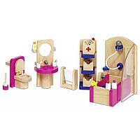 Игровой набор Goki Мебель для ванной (51748G)