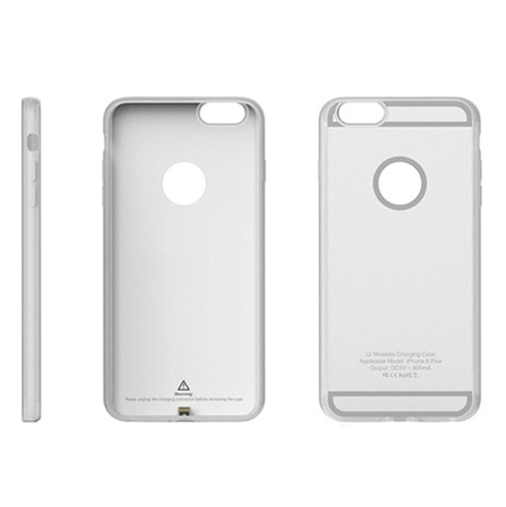 Чехол со встроенным ресивером для iPhone 6 Plus/6S Plus Ytech Silver