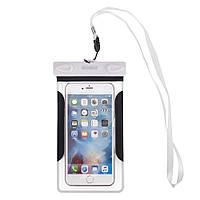 Чехол для мобильного телефона ROMIX водонепроницаемый Белый (RH12W)
