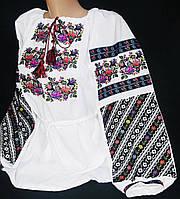 Национальная вышиванка Владлена на домотканом полотне