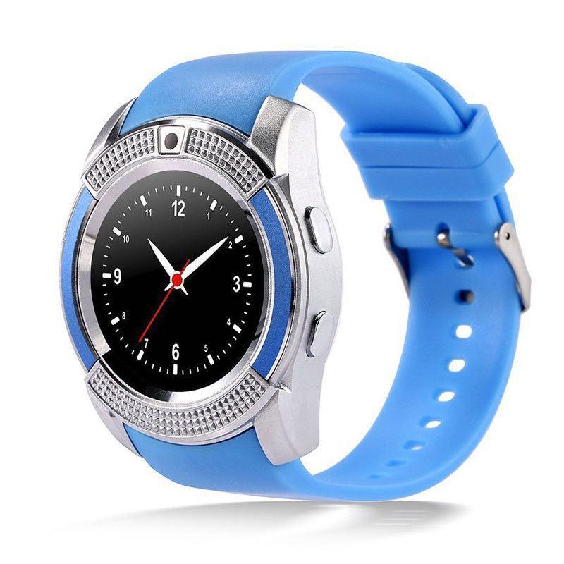 Умные часы Smart Watch V8 Blue (SWV8B)