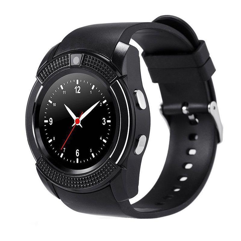Умные часы Smart Watch V8 Black (SWV8BL)