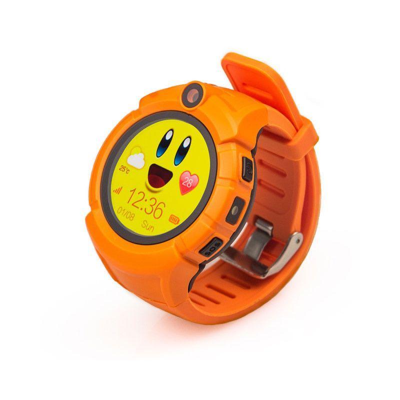 Детские умные GPS часы Q360 Orange (SBWQ360O)