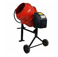 Бетономешалка  Forte 125 литров 550 Вт - готовая смесь 95 л