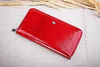 Женский кожаный кошелёк на молнии Balisa красный В103-5702, фото 1