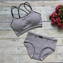 Комплект нижнего белья (007/серый)