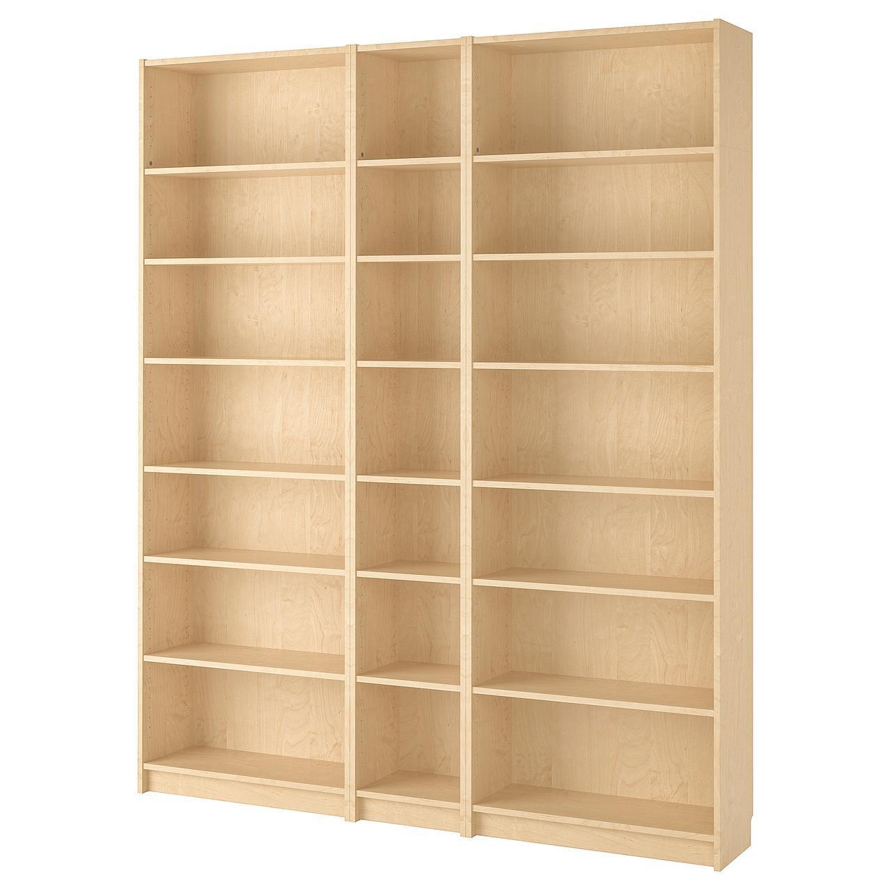 IKEA BILLY Книжный шкаф, березовый шпон  (690.234.00)