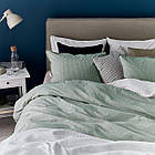 IKEA BERGPALM Комплект постельного белья, зеленый, полосатый  (404.232.05), фото 2