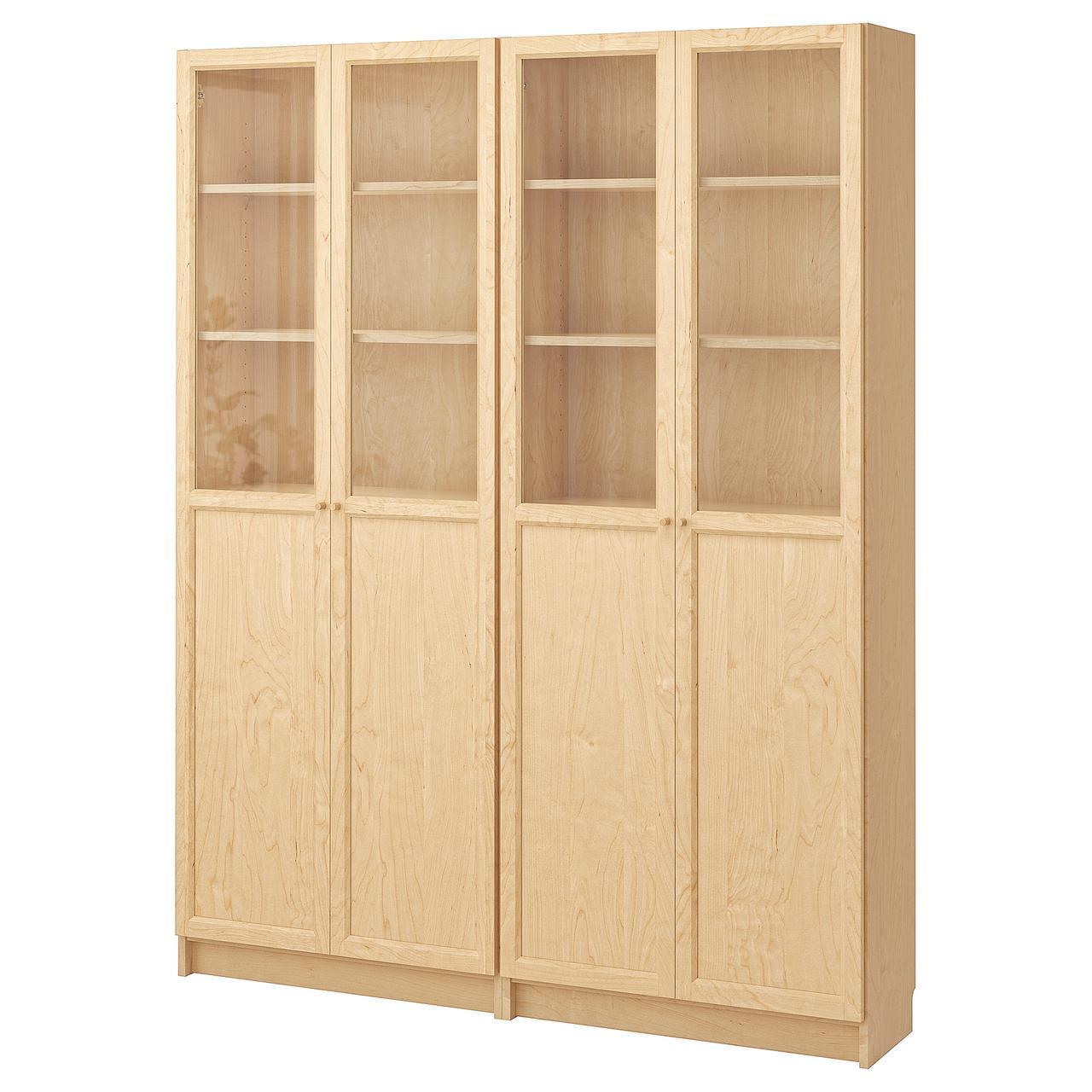 IKEA BILLY/OXBERG Книжный шкаф, березовый шпон  (190.234.07)