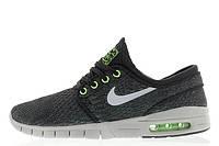 Мужские кроссовки Nike Sb Stefan Janoski Max Blackwolf Grey-Flash Lime размер 42 (Ua_Drop_115427-42)