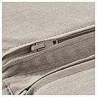 IKEA POANG Кресло, белое, Книса светло-бежевый  (392.408.05), фото 5