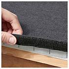 IKEA VIMLE Подставка для ног с ящиком для хранения, серо-серый  (992.054.46), фото 5