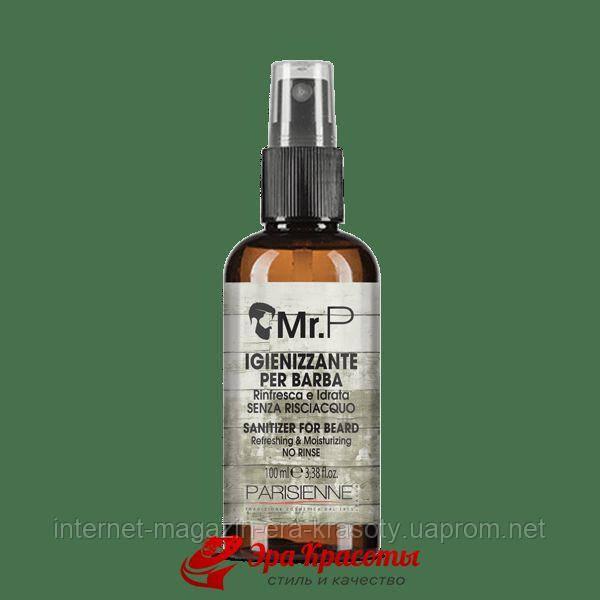 Смягчающий спрей для бороды MR P Sanitizer For Beard Black Professional (758002), 100 мл