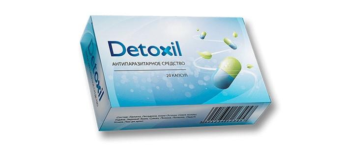 Detoxil (Детоксил) - капсулы на основе трав от паразитов