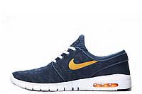 Мужские кроссовки Nike Sb Stefan Janoski Max Blue Orange размер 42 (Ua_Drop_124132-42)