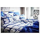 IKEA TANKVARD Комплект постельного белья, решетка синий  (304.347.61), фото 6