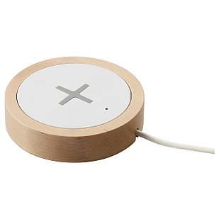 IKEA NORDMARKE Беспроводное зарядное устройство, белый  (403.819.79)