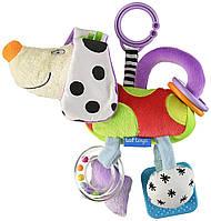 Развивающая игрушка - подвеска Taf Toys Смышленый песик (11695)